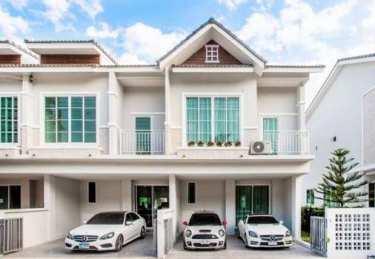 The Rich Bangsaen บ้านแฝด & พรีเมี่ยมทาวน์โฮม ทำเลคุณภาพบน ถ.ข้าวหลาม-บางแสน ใกล้ทะเล วิวภูเขา พร้อมเข้าอยู่